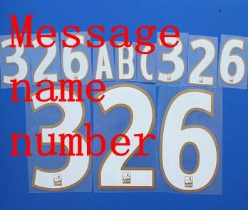 White Gold customized name and number
