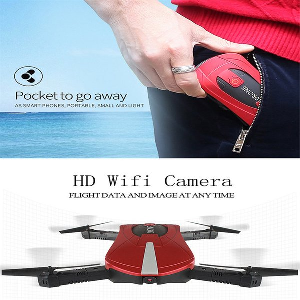 New FPV RC Drone Home Foldable RC With 2 million camera Mobile Phone Control Quadrocopter fixed height aerial Drone Foldable toy