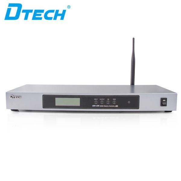 Warme Speise Metallhülle stabile Übertragung 3D APP Steuer 340MHz / 3.4Gbps 4K 8 Eingang 8 Ausgang 8 Port HDMI Videomatrixschalter