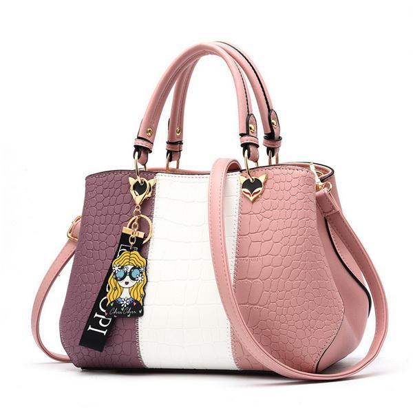 Mode Nouveaux Bagages En Gros Baggage Girls 2019 New Baggage Couleur Trendy Sac À Main Dames Une Épaule Slant Bagages bien vendre Totes