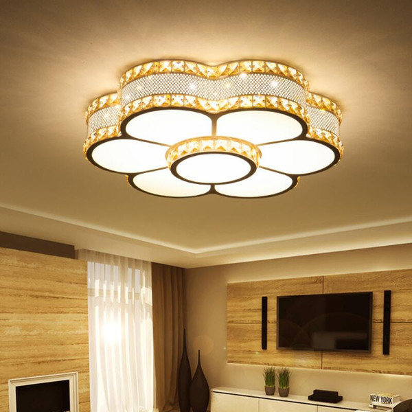 Modern chandelier led crystal High power led lamps Flower Chandeliers lighting bright led lustre lighting pendant/droplight Z20