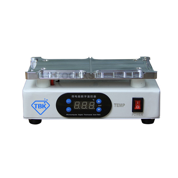 TBK-988D For iPhone X/XS/XS Max LCD Screen Frame Separator Machine Middle Frame Remover Heating Table