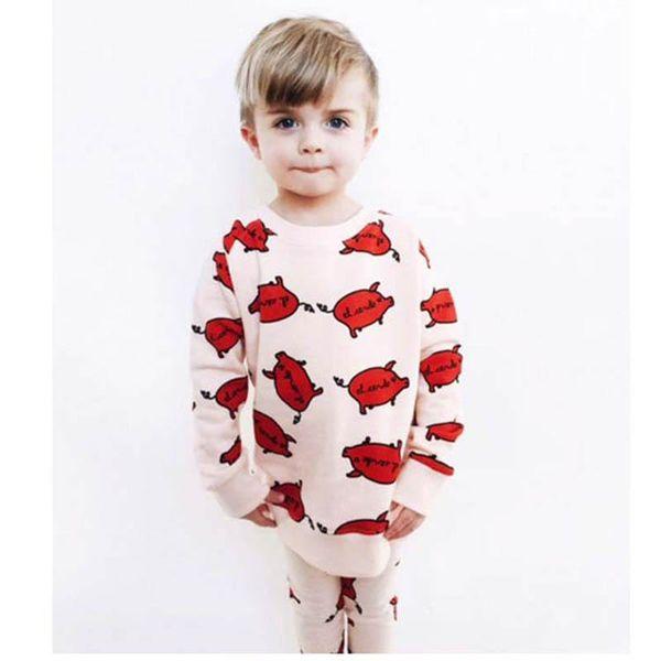 Yürüyor boy giyim toddler eşofman bebek kız giysi tasarımcısı Bebek Takım Elbise Bebek Kıyafetleri 2 adet / takım bebek eşofman erkek giyim A2708