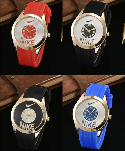 Hot sale Luxury mens watches women watches brand designer watch Silicone strap Wristwatch sports watch for gift