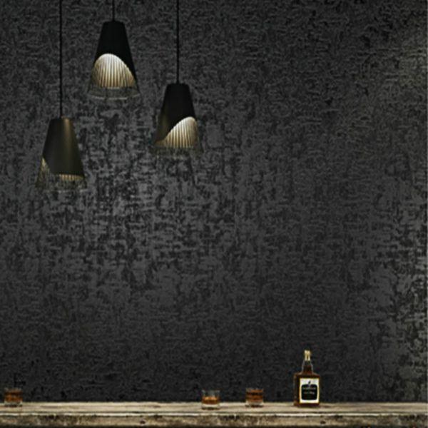 Retro Solid Color Metallic Plain Wallpaper For Walls Roll Cement Concrete Industrial Wall Papergoldgreyredbluegreenblack Hd Free Wallpaper Hd