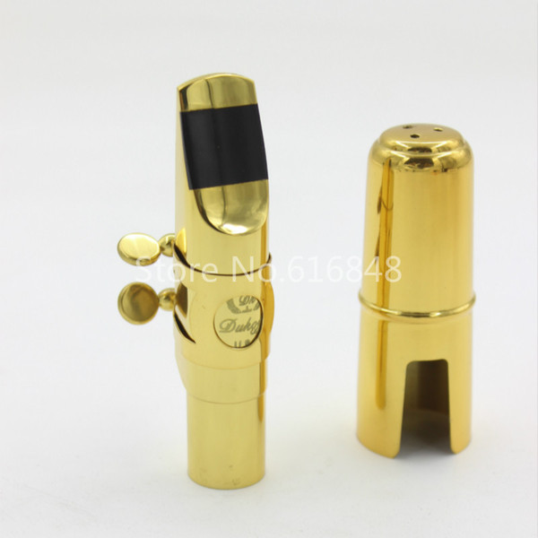 Dukoff Professional Musical Instrument Accessories Saxophone Metal Mouthpiece for Alto Tenor Soprano Saxophone Size 5 6 7 8 9