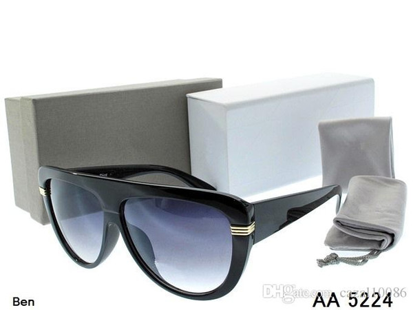 1123326d9323b 2018 top jim moda dos homens das mulheres óculos de sol de verão ao ar  livre esporte kaká óculos homens mulheres com caso original frete grátis  piloto e
