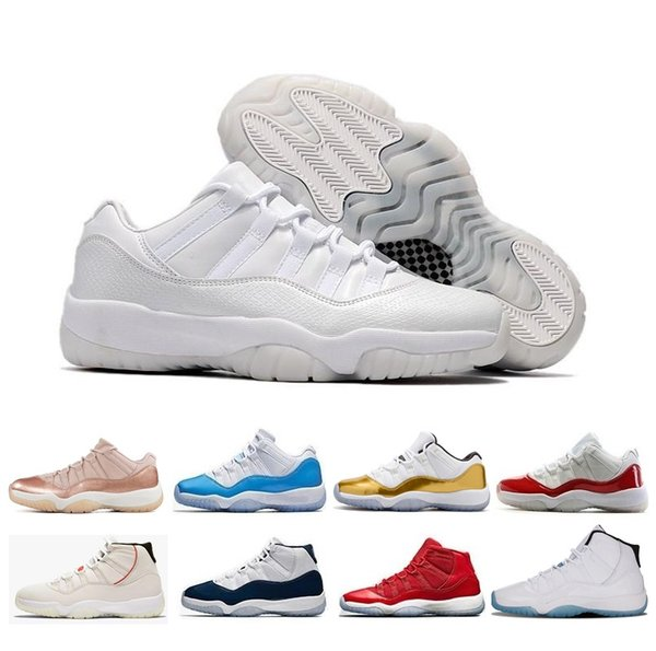 New 11 11s men women Basketball Shoes air high low le Heiress Black Rose Gold Concord 23 45 Space Jam Barons Navy Gum j11 retro Sneakers