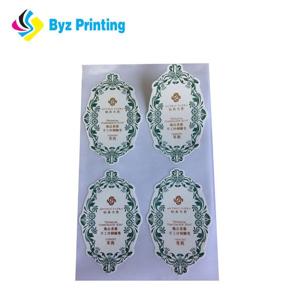 Etiqueta de troquelado pegatina troquelado personalizado pegatina troquelado con precio competitivo