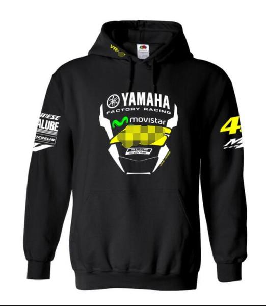 Nova Yamaha camisola equitação da motocicleta homens revestimento do hoodie fã moda casual fleece hoodie sweater