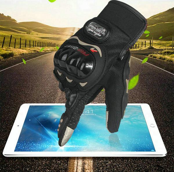 PRO-BIKER Motorrad-Reitschutzhandschuhe Touchscreen Motorradfahrer Daily Cycling Glove Handgelenk schützen rutschfeste Handschuhe