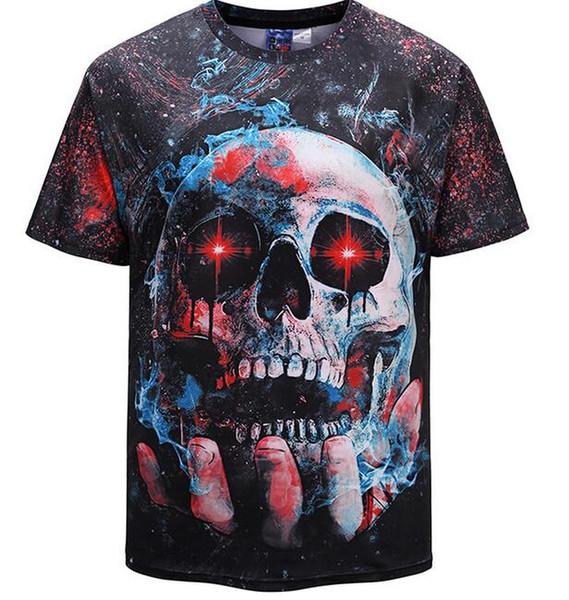 18 sskjiu Lüks tees Erkek Tasarımcı T Shirt erkek Moda Baskı tişörtleri Yaz Kısa Kollu Pamuk Rahat Marka Hip Hop Tops T-Shirt