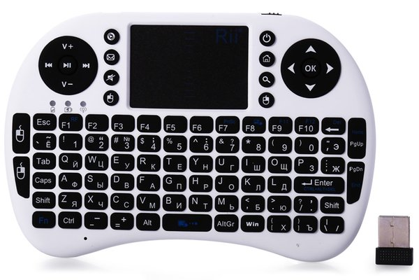 Kablosuz Klavye rii i8 klavyeler Fly Air Fare Multi-medya Uzaktan Kumanda Touchpad El TV BOX Android Mini PC için