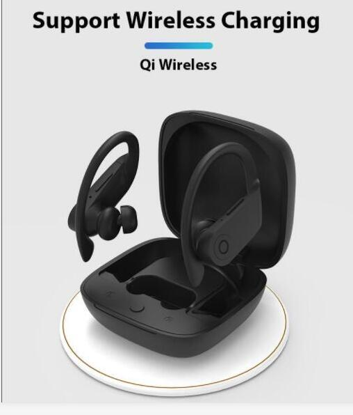 Best Bluetooth Earbuds 2020.Headphone 2020 Newest Power Pro Tws V5 0 Bluetooth Headphones Wireless Ear Hook In Ear Sports Earbuds Gaming Earphone Retail Package Best Quality
