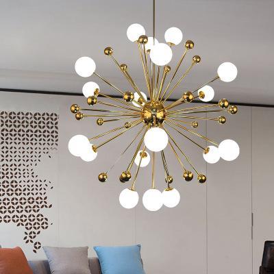Großhandel Glas Led Lampe Modernes Design Kronleuchter Decke Wohnzimmer  Schlafzimmer Esszimmer Leuchten Dekor Hause Beleuchtung G4 220 V Von  Huxiaoan, ...