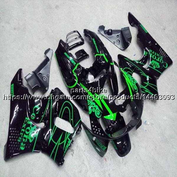 Custom+Screws green black motorcycle Fairing hull For Honda CBR900RR 1994 1995 1996 1997 CBR893RR