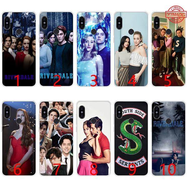 Hot tv show riverdale adorável silicone macio tpu phone case para xiaomi mi a1 5x6 6x 8 se mix 2 s a2 lite tampa