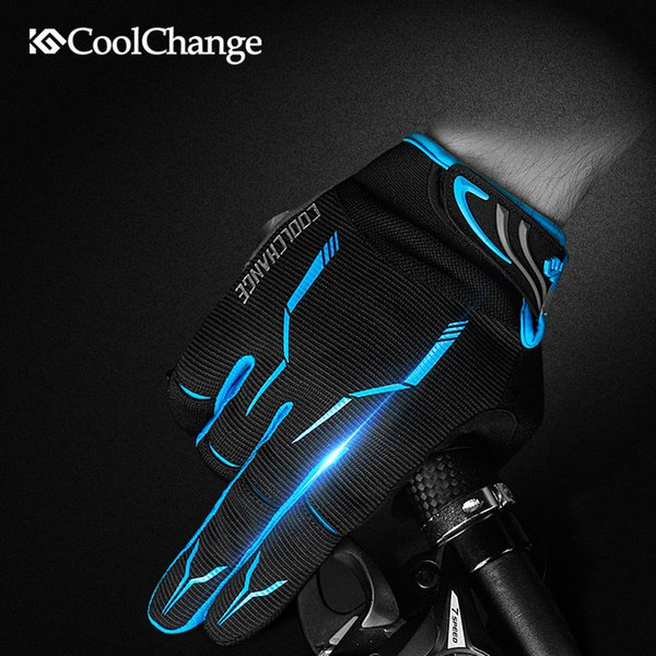 Cycling Touchscreen Gloves Finger MTB Motorcycle Road Gel Full Bike Bicycle