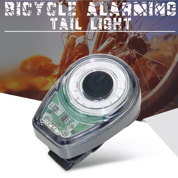 High Quality Waterproof USB Charging Bike Rear Lights Bicycle Cycling Safety Emergency Rear Flashlight 3 colors Safty tail lamp spoke Light