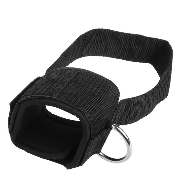 Cheville D-ring Sangle Gym Pied câble Fixation Cuisse Leg Poulie Poids de levage