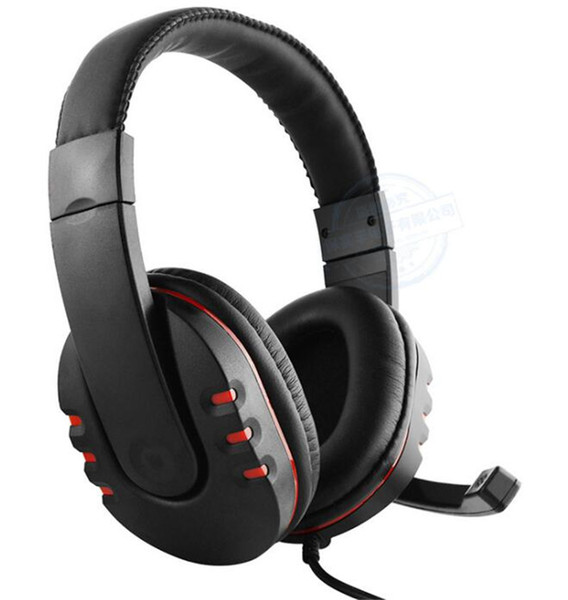 Game headset tooling gaming headsets Headphone 3.5mm Serious Serious bass Stereo mic for PC XBOX ONE PS4 PS3 cell phone Computer DHL
