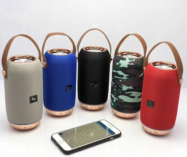 2019 hot style Bluetooth Wireless Portable Mini Speaker Outside Sport Loudspeakers Mp3 Player with handle Support