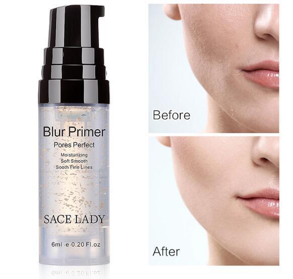 Blur Primer Makeup Base Face 24k Gold Foundation Primer Oil Control Professional Matte Make Up Pores Brand Cosmetic