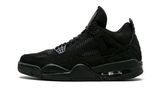 2020 El más reciente liberación de aire auténtico 4 Negro retro del gato de lujo 4S 202airjordan hombre baloncesto calzado deportivo zapatillas de deporte con la caja original CU1110-010