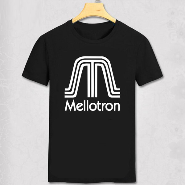 Mellotron T Shirt Top The Beatles Moody Blues King Crimson Genesis Music Gift T SHirt Mellotron Men Short SLeeve Tee
