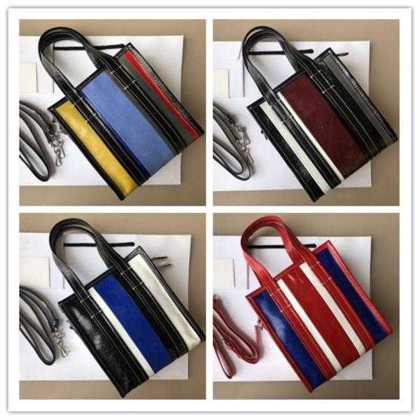 Luxury brand women's bag Imported original fabric stitching design contracted leisure Women's single shoulder bag handbag