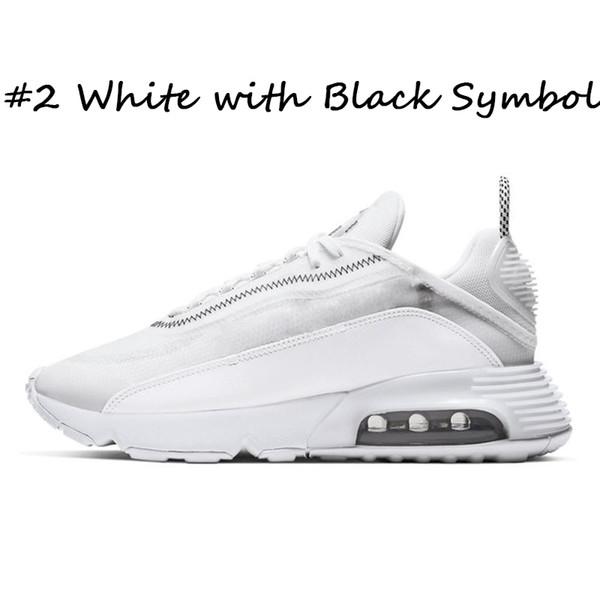 # 2 Blanco con Negro Símbolo