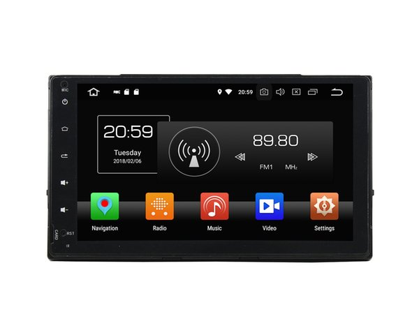 "4GB RAM 64GB ROM Octa Core 2 din 9"" Android 8.0 Car DVD Radio Player for Toyota Corolla 2016 2017 Car GPS Bluetooth 4G WIFI USB Mirror-link"