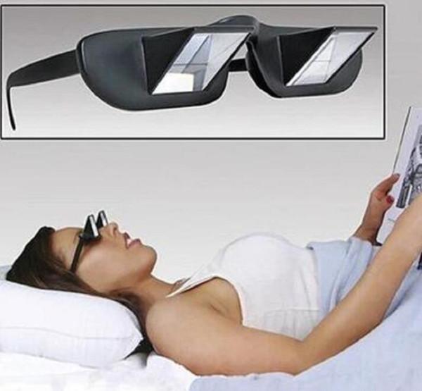 Lazy Glasses Lazy Readers Bed Horizontal Prisma Refractivas Goggles Travel Glass Camping Hiking Eyewear Vision Care Glasses GGA1823