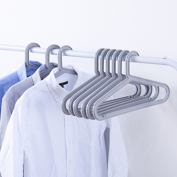 Scarf Pants Tie Classic Simple Plastic Hanger Seamless Home Hanging Clothes Wardrobe Storage Hanger Clothes Hanger