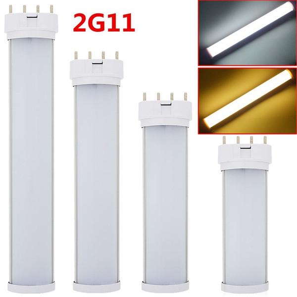 2G11 LED-Röhren 9W 12W 16W 24W LED-Leuchten 23cm 32cm 41cm 53cm AC85-265V Zweireihige SMD2835 LED-Lampe Kaltweiß Warmweiß