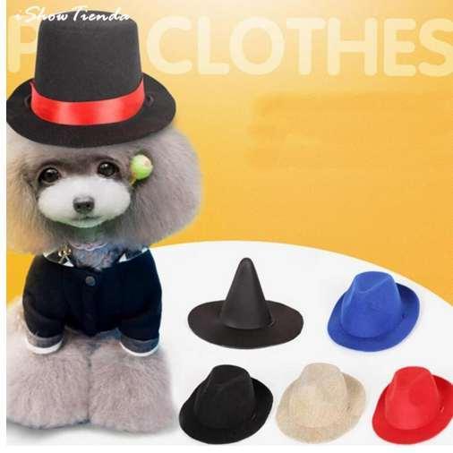 Pet Summer Cap Dog Hat Visor Hat Puppy Outdoor Sunbonnet Cap Pet Dog Cap Small Pet Summer Canvas Dog Baseball Visor Hat