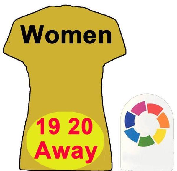 Frauen weg gelb