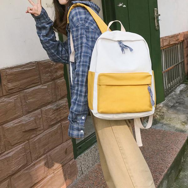 Рюкзак большой емкости из плотной ткани из износостойкой дорожной сумки для студентов Новинка