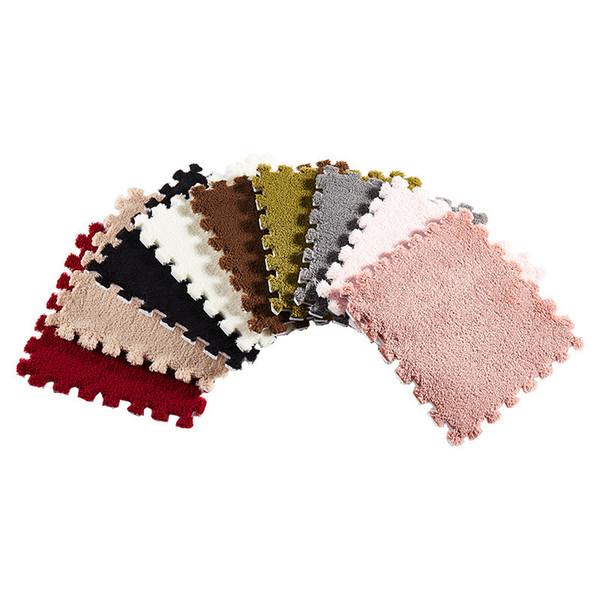 best selling Interlocking Foam Mats Interlocking Carpet Tiles Plush Carpet Area Rug Carpet Floor Tiles Non-Toxic Anti-Fatigue Premium Puzzle Floor Mat Ho