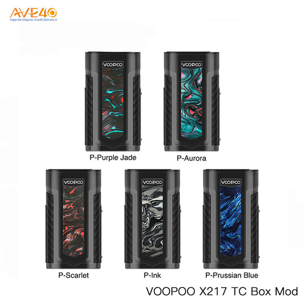 Original VOOPOO X217 TC Box Mod 217W GENE.FIT Chip TFT Screen Powered By 21700/18650 Battery