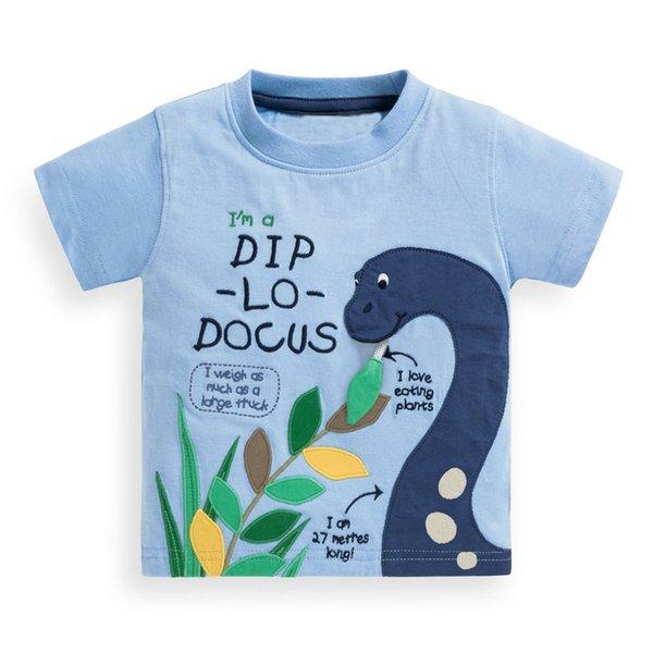 Kleinkind Infant Neugeborenes Baby Boy 100% Baumwolle T-Shirt Kurzarm Top T-Stück Kinder Sommer Kleidung