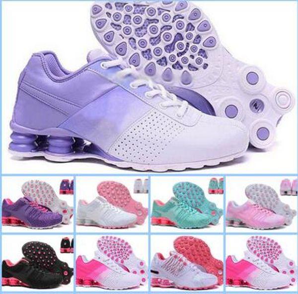 Ucuz Avenue Teslim Akım NZ R4 802 808 kadın koşu ayakkabıları çeşitli colorway kadın spor Eğitmenler sneaker boyutu 5.5-8.5