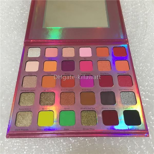 2019 new makeup j tar 30 color eye hadow palette matte pre ed powder eye hadow face co metic high quality