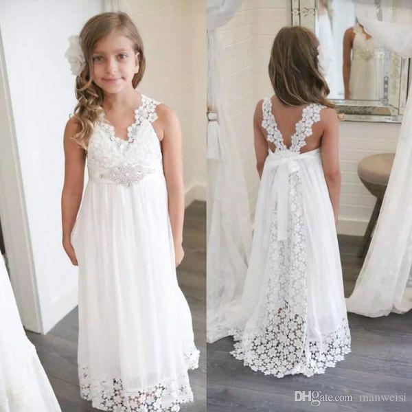 ivory flower girl dresses