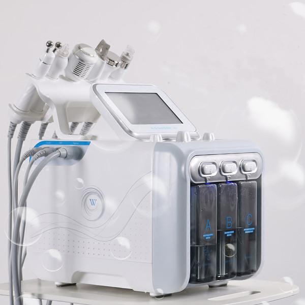 6in1 H2-O2 Hydra Dermabrasion Aqua Peel RF Bio-Lifting Spa Facial Hydro Wasser Microdermabrasion Gesichts Maschine Kalt Hammer Oxygen Spray