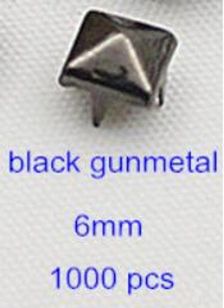 schwarzes Rotguss 6mm