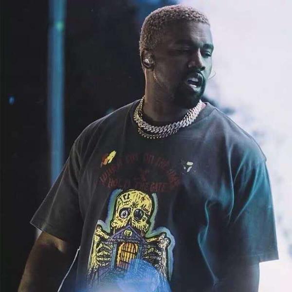 19ss Season 6 Kanye West T Shirt Men Women Streetwear Xxxtentacion T-shirt Harajuku Sally Face Top Tees Season 6 Tshirt C19041101