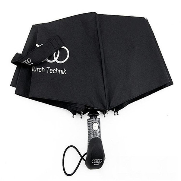 High Quality Windproof Umbrella Automatic Internal And Rainproof Straight Hook Audi Europe And The United States Automatic Umbrella