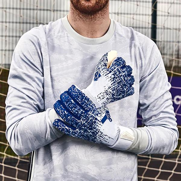 best selling 2020 Top PREDATOR PRO Goalkeeper Gloves 4mm Allround Latex Professional Soccer Goalkeeper Football Bola De Futebol Gloves Luva De Goleir