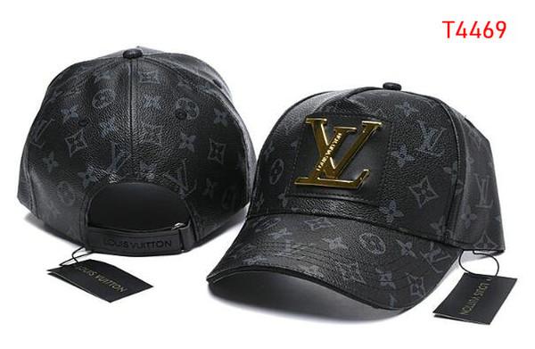 2020 Nueva marca para hombre diseño de los sombreros del Snapback Francia V gorras de béisbol ajustable casquette verano sombrero de moda del camionero verano de señora de lujo 07